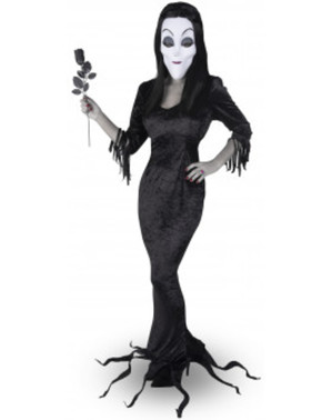 Kostým pro ženy Morticia Addamsova rodina
