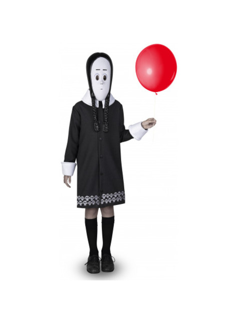 Wednesday The Addams Family Costume for girls