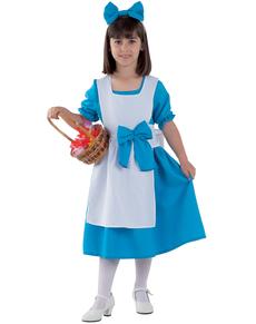 Fato de Alice para menina