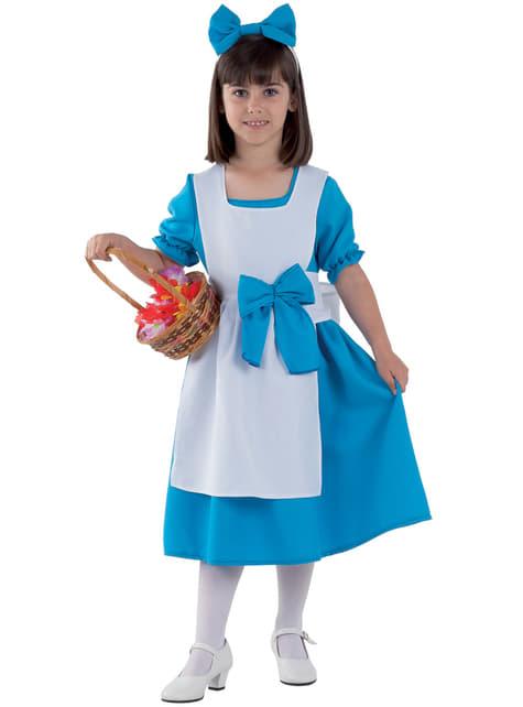 Alice kostuum voor meisjes