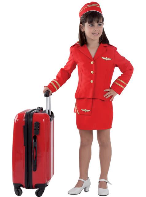 Stewardessekostume til piger