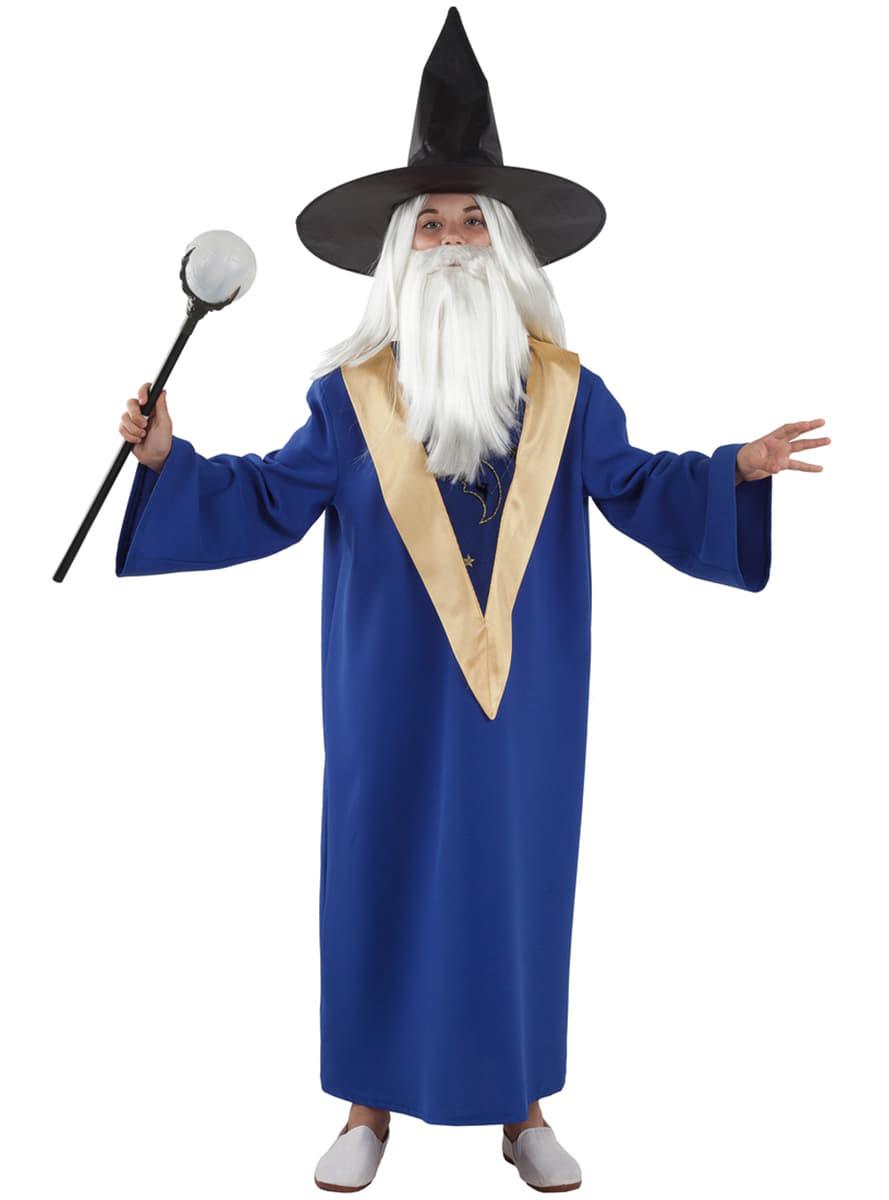 Costume da mago Merlino da bambino Consegna express Funidelia ec474e13cb62