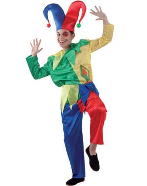 Kostium nadworny błazen dla chłopca