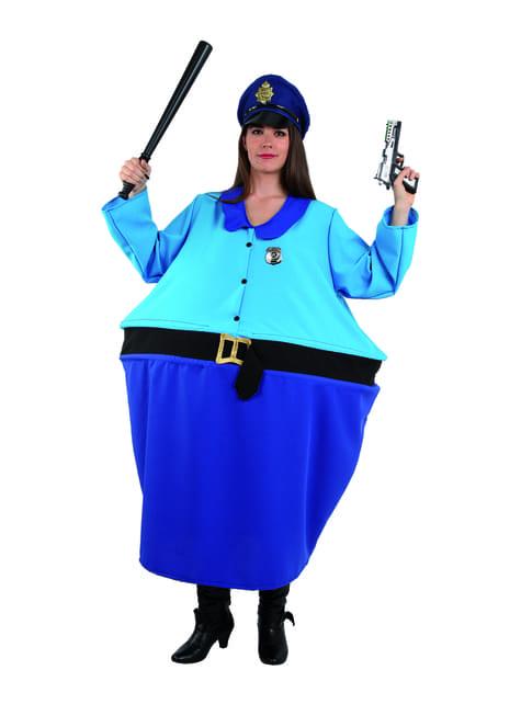Déguisement chef de la policière femme
