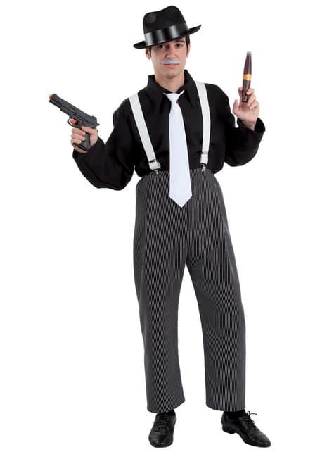 Kostium gangster męski