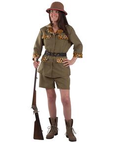 Disfraz de cazador de safari para mujer
