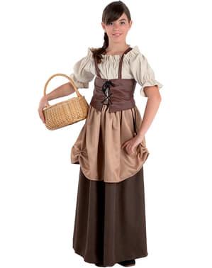 Gemüsegärtnerin Kostüm für Mädchen