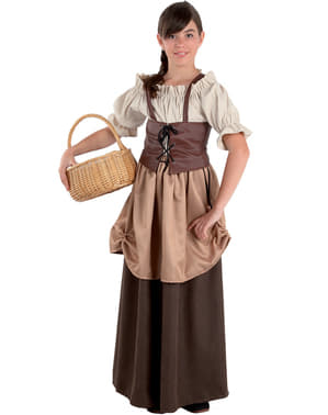 Girls' Gardener Costume