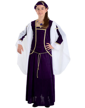 Girls' Medieval Queen Costume