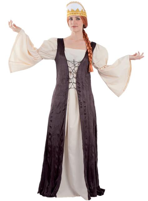 Women's Queen of Castile Costume