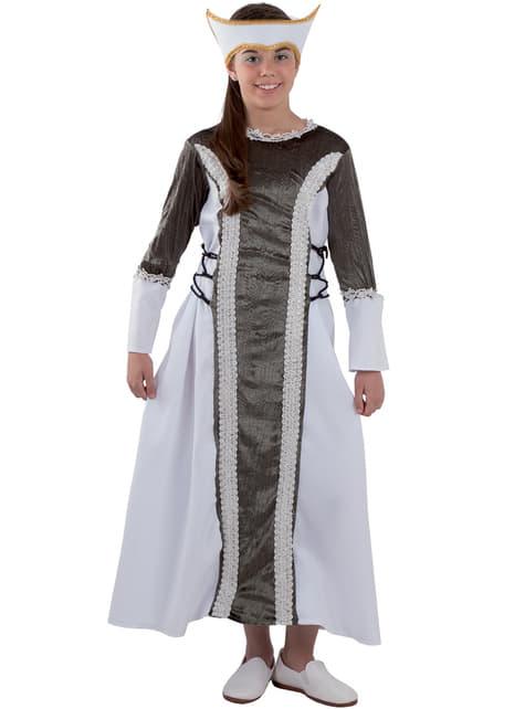 Girls' Elizabeth the First Costume