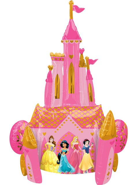 Globo con forma de castillo Princesas Disney (88 cm) - Disney