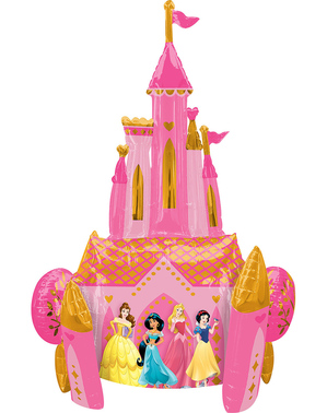 Balloon shaped Disney Princesses castle (88 cm) - Disney
