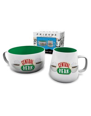 Friends Central Perk set med mugg och skål