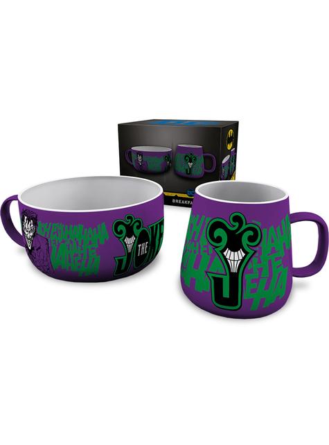 Set de taza y cuenco de Joker - DC Comics