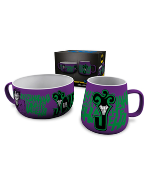 Joker mug and bowl set - DC Comics