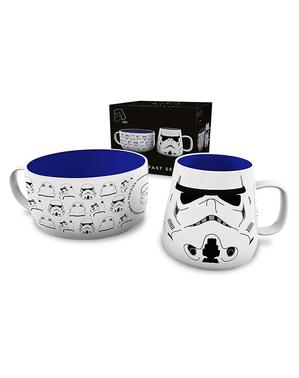 Set de taza y cuenco Stormtrooper - Star Wars