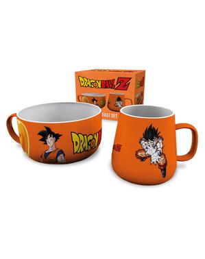 Goku set med mugg och skål - Dragon Ball