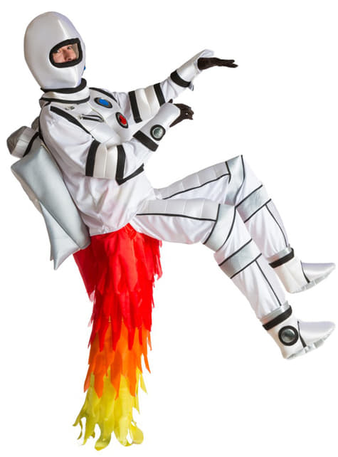Fato rocket man para adulto