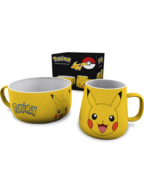 Set de taza y cuenco Pikachu - Pokemon