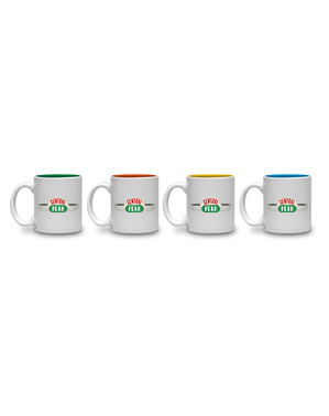 4 mini tasses Friends Central Perk