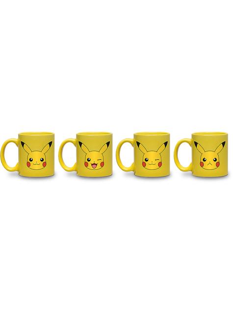 Set de 4 minitazas Pikachu - Pokemon