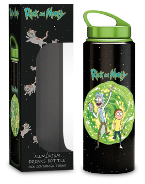 Fľaša Rick a Morty