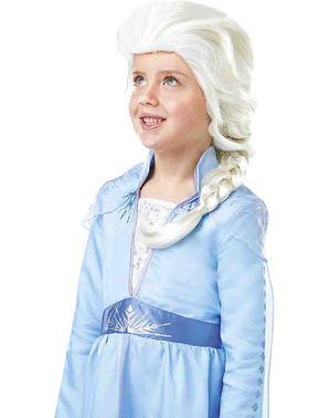 Peruca de Elsa Frozen para menina - Frozen 2