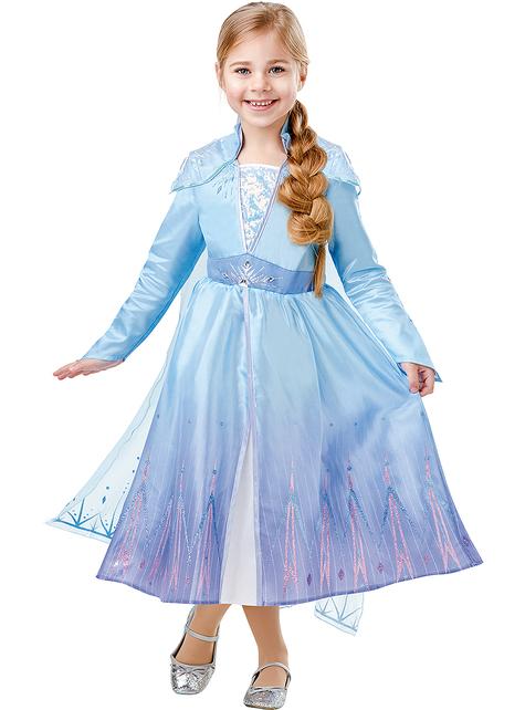 Strój deluxe Elsa dla dziewczynek - Kraina Lodu 2