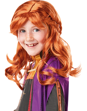 Anna Frozen wig for girls - Frozen 2
