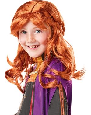 Perucă Printesa Anna pentru fată - Regatul de gheață 2 (Frozen)