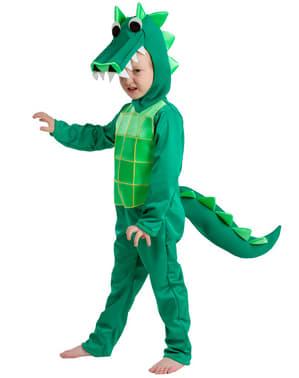 Strój krokodyl z sadzawki dla dzieci