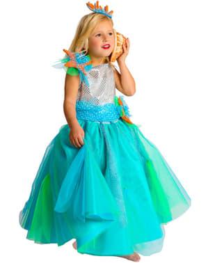 Havets Prinsessa Maskeraddräkt Barn