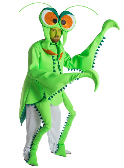 Disfraz de mantis para adulto