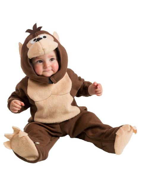 Μικρή κοστούμι μαϊμού μωρού