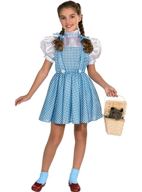 Girls Dorothy The Wizard of Oz deluxe costume