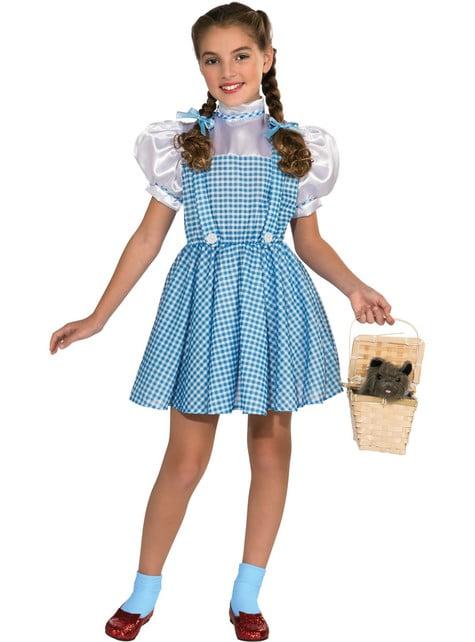 Kostium Dorothy deluxe Czarnoksieznik z Oz dla dziewczynki