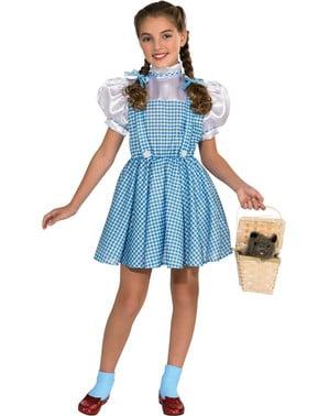Costum Dorothy deluxe Vrăjitorul din Oz pentru fată