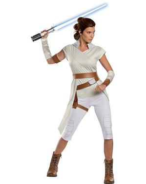 Fato de Rey Star Wars Episódio 9 classic para mulher