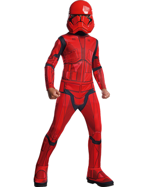 Sith Trooper Star Wars Episode 9 costume for boys