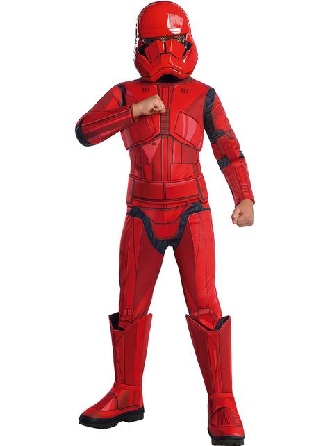 Disfraz de Sith Trooper Star Wars Episodio 9 premium para niño