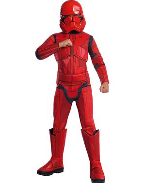 Sith Trooper Star Wars Episod 9 premium maskeraddräkt för pojke