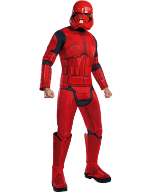 Sith Trooper Star Wars Episode 9 deluxe costume for men