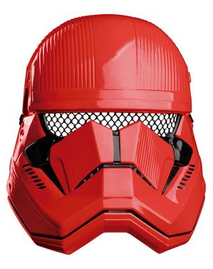 Capacete de Sith Trooper Star Wars Episódio 9 para menino