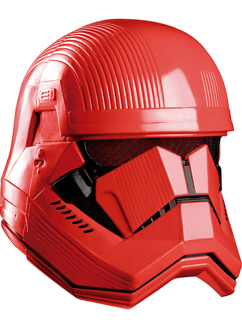 Casco de Sith Trooper Star Wars Episodio 9 para hombre