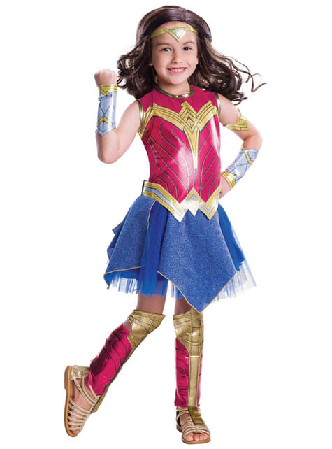 Wonder Woman kostume til piger - Batman vs Superman