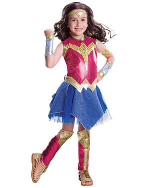 Fato de Wonder Woman Batman vs Superman para menina