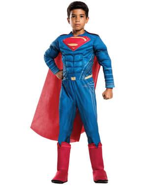 Gevoerd Superman kostuum voor jongens