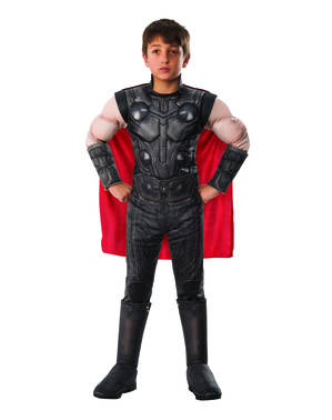 Thor deluxe costume for boys - The Avengers