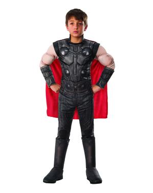 Thor deluxe maskeraddräkt för pojke - The Avengers